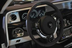 Rolls-Royce Phantom Steering Wheel, Malaysia 2017