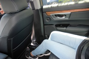 Honda CR-V  - Legroom aplenty
