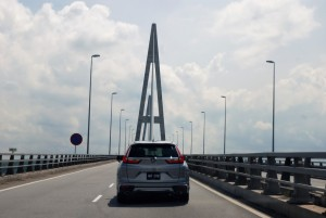 Honda CR-V  on way to Penang