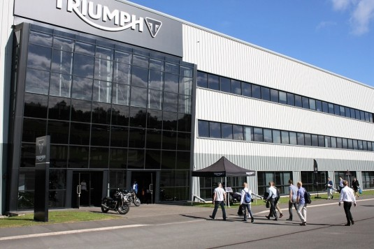 Triumph Motorcycles Unveils New Visitor Experience At Hinckley Factory