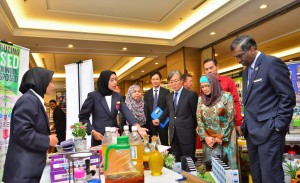 At the exhibition - Toyota Eco Youth 2017 Malaysia
