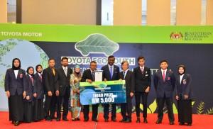 Toyota Eco Youth TEY 2017_3rd Place Winner SMK Balai Besar Dungun - Malaysia
