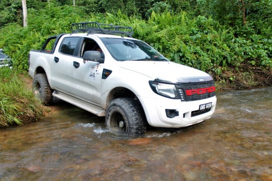 Ford Ranger Owners Club Borneo Region Completes First 4x4 Expedition Into Sarawak Remote Village