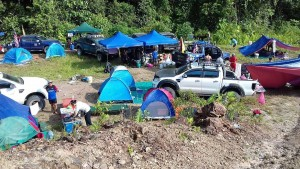 Ford Ranger Owners Club Borneo Region Ulu Engkuah Campsite, 4x4 Expedition 2017