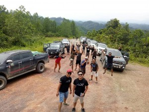Ford Ranger Owners Club Borneo Region Ulu Engkuah Expedition, Sarawak 2017