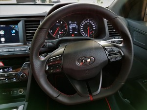 Hyundai Elantra Sport 1.6L T-GDI Turbo, Steering Wheel, Malaysia 2017