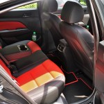 Hyundai Elantra Sport 1.6L Turbo Rear Seats, Malaysia 2017
