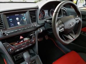 Hyundai Elantra Sport Turbo Cockpit 2017 Malaysia
