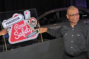 Perodua Road Safety Campaign, Datuk (Dr) Aminar Rashid Salleh, 2017
