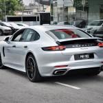 Porsche Panamera Rear View Malaysia 2017