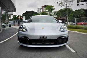 Porsche Panamera Front View, Malaysia 2017