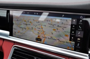 Porsche Panamera Touchscreen Display, Navigation, Malaysia 2017
