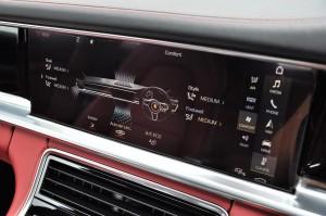 Porsche Panamera Touchscreen Display, Climate Control, Malaysia 2017