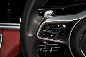 Porsche Panamera Steering Wheel Controls, Malaysia 2017