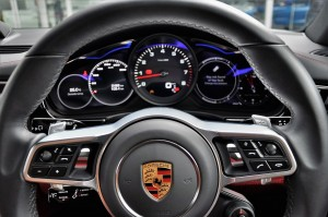 Porsche Panamera Steering Wheel & Instrument Cluster, Malaysia 2017