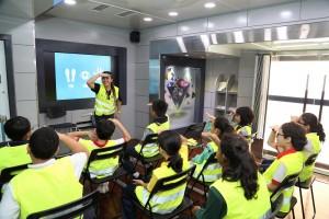 Volvo Trucks Malaysia & KidZania Kuala Lumpur Stop, Look, Wave Road Safety Program 2017