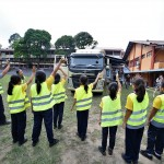 Volvo Trucks Malaysia Stop, Look, Wave Road Safety Program, Blind Spot