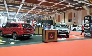 Malaysia Autoshow 2017 Mitsubishi Display