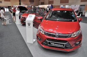 Malaysia Autoshow 2017 Proton Display