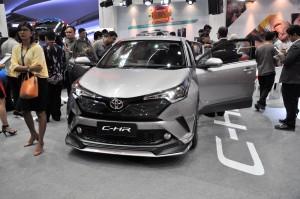 Malaysia Autoshow 2017 Toyota C-HR
