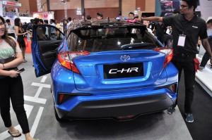 Malaysia Autoshow 2017 Toyota C-HR Rear