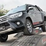Malaysia Autoshow 2017 Toyota Hilux, Toyota Off-road Test Track, MAEPS