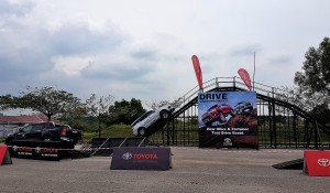 Malaysia Autoshow 2017 Toyota Hilux & Fortuner Test Drive, Drive Uncompromised, MAEPS Serdang
