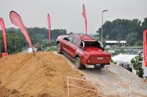 Malaysia Autoshow 2017 Toyota Hilux Off-road Test Drive