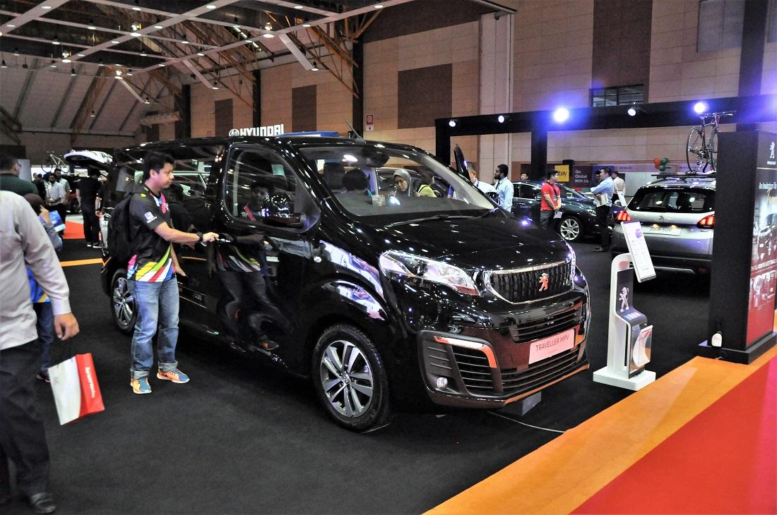 Malaysia Autoshow 2017, Peugeot Traveller MPV - Autoworld.com.my