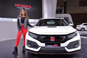 Honda Civic Type R Front View, Malaysia Autoshow 2017 Launch
