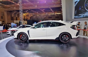 Honda Civic Type R Side View, Malaysia Autoshow 2017 Launch