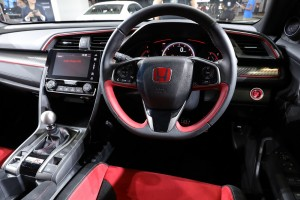 Honda Civic Type R Cockpit, Malaysia Autoshow 2017