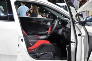 Honda Malaysia, Civic Type R Interior, Malaysia Autoshow 2017