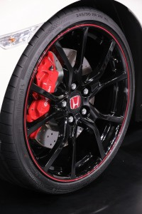 Honda Civic Type R Wheel Malaysia Autoshow 2017
