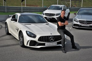 Mercedes-AMG GT R Launch, Sepang Malaysia 2017, Mark Raine