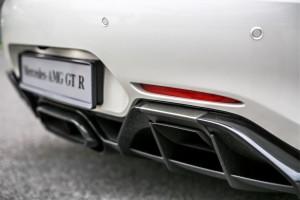 Mercedes-AMG GT R Rear Diffuser Malaysia 2017