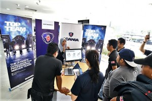 Scania Malaysia Top Team Competition, Info Station 2017-18