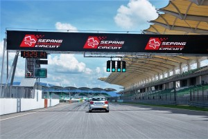 Sepang International Circuit Straight