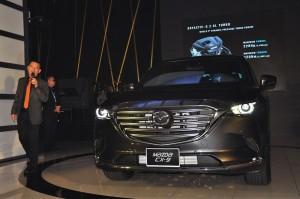 Mazda CX-9 Malaysia Launch Presentation, Ian Khong