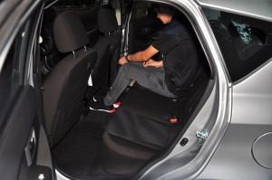 Perodua Myvi 1.3L Rear Seats, Malaysia 2017
