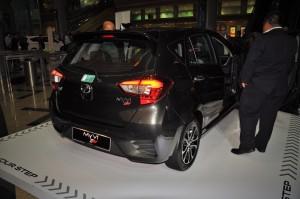 Perodua Myvi 1.5L Advance AV Rear View Malaysia Launch