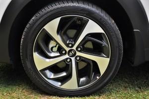 Hyundai Tucson Turbo 19 Inch Wheel, Malaysia