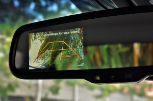 Hyundai Tucson Turbo Reverse Camera View, Malaysia