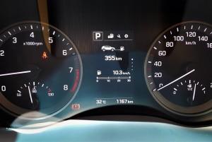 Hyundai Tucson 1.6L T-GDI Turbo Petrol Meter Cluster, Malaysia