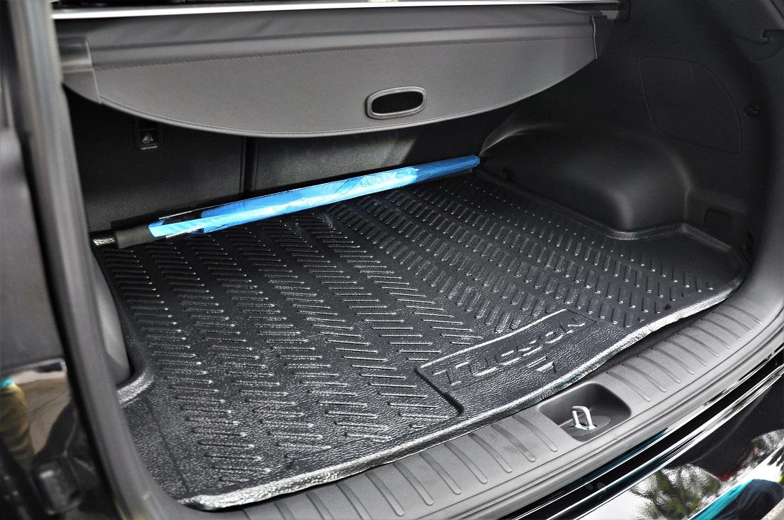Hyundai Tucson Rear Cargo Space Trunk Liner Malaysia Autoworld
