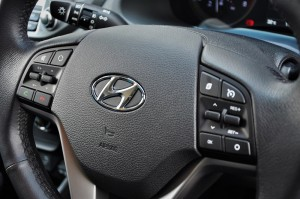 Hyundai Tucson Turbo Steering Buttons Malaysia 2017