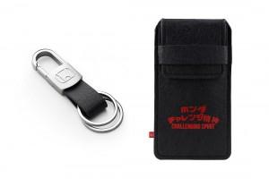 11 New Honda Merchandise_Key Ring & Key Pouch set - Malaysia