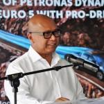 Dato' Mohd Ibrahimnuddin Mohd Yunus, MD & CEO Petronas Dagangan Bhd, Dynamic Diesel Euro 5 With Pro-Drive Launch, Malaysia 2017