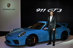 Porsche 911 GT3 Launch, Arnt Bayer, Sime Darby Auto Performance, Malaysia 2017