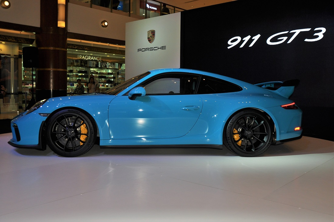 Porsche 911 Gt3 Side View Malaysia Launch 2017